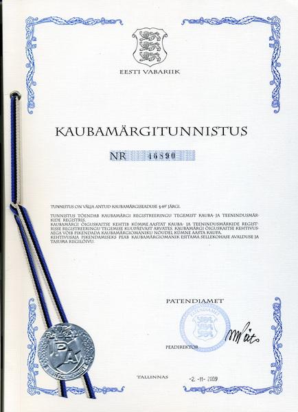 Товарный знак «EIFO - Доктор Вашей Земли» - запатентован в 2006 году.
